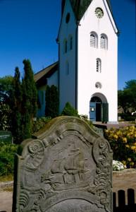 Amrum Kirche Seefahrerfriedhof
