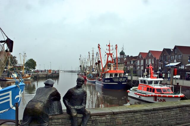 Neuharlingersiel Hafen Skulptur - Arbeitskopie 2